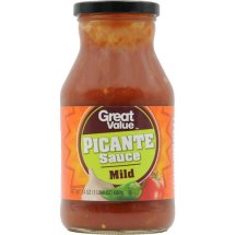 Great Value All Natural Mild Picante Sauce, 24 oz