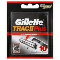 Gillette TracIIPlus Lubrastrip Cartridges