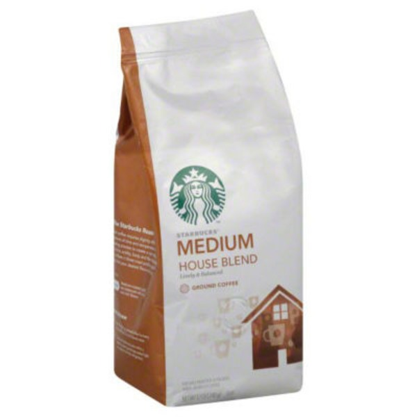 Starbucks Medium House Blend Ground Coffee