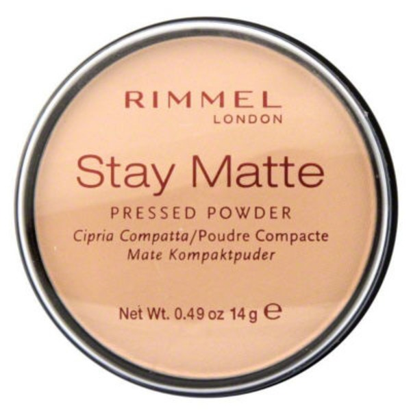 Rimmel Pressed Powder, Long Lasting, Transparent 001