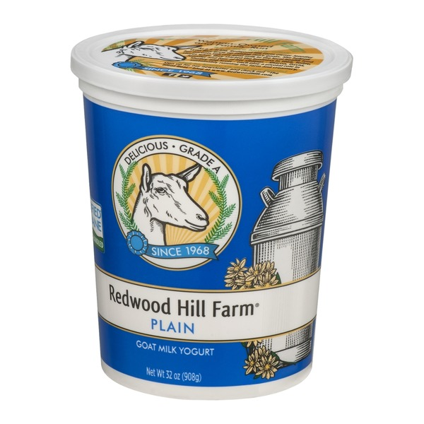 Redwood Hill Farm Goat Milk Yogurt Plain