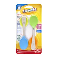 Gerber Graduates 10+ Months Soft Bite Spoons for Toddlers - 4 CT