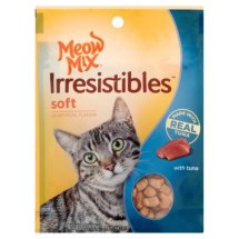 Meow Mix Irresistables Tuna Dry Cat Treats, 3 Oz