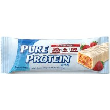 Pure Protein Strawberry High Protein Bar with Greek Yogurt Style Coating, 1.76 oz