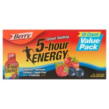 5-Hour Energy Shot, Berry, 1.93 Fl Oz, 10 Count