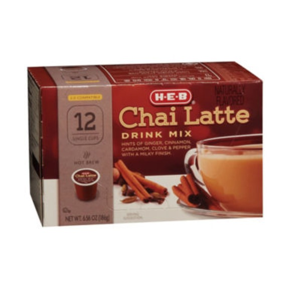 H-E-B Chai Latte Single Cup Drink Mix
