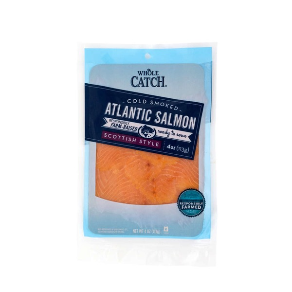 Whole Catch Cold Smoked Scottish Style Atlantic Salmon