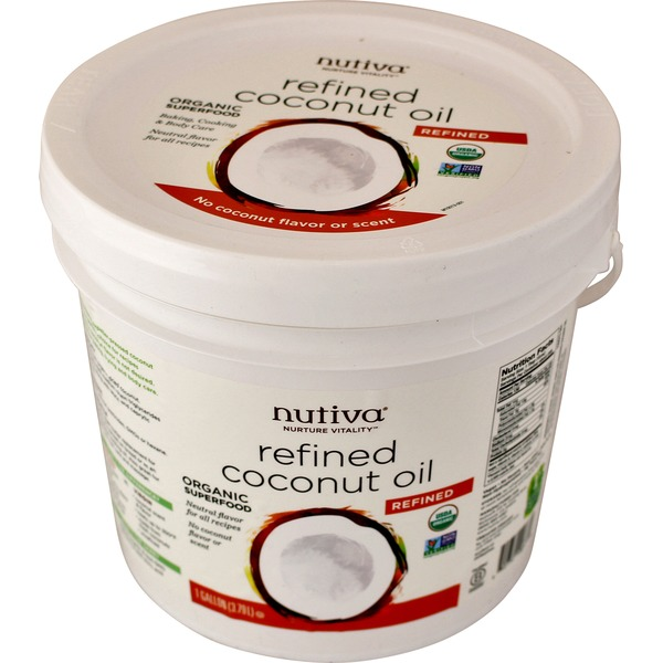 Nutiva Refined Organic Coconut Oil