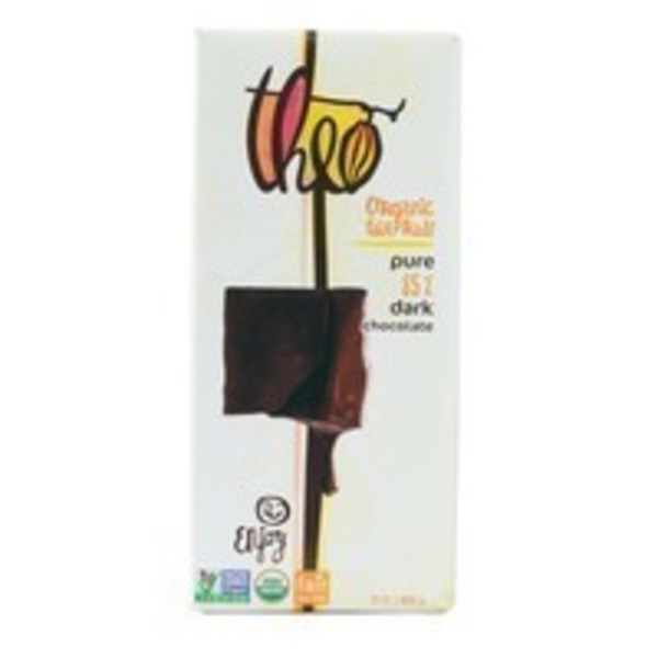 Theo Chocolate Organic 85% Dark Chocolate Bar