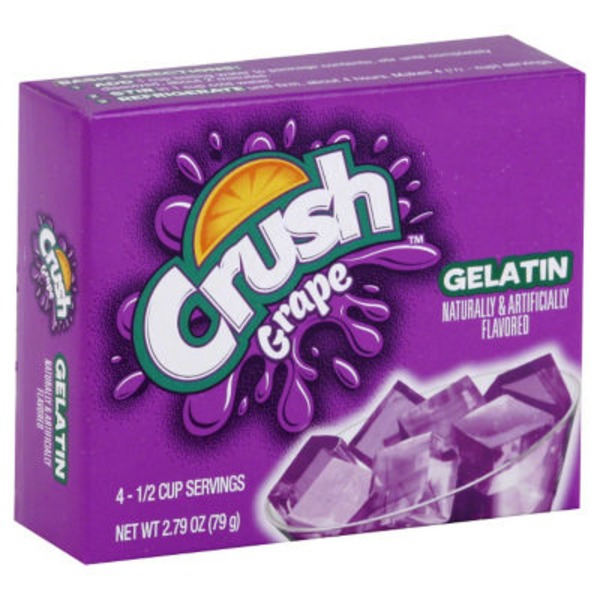 Crush Gelatin Mix Grape