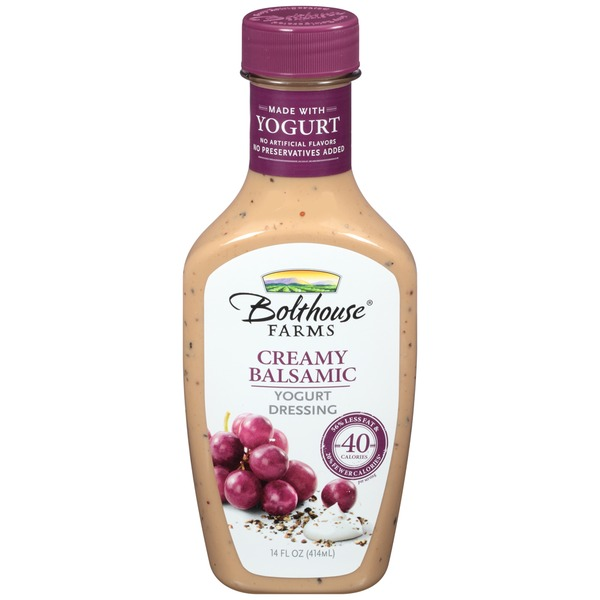 Bolthouse Farms Creamy Balsamic Yogurt Dressing