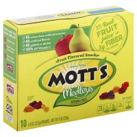 Motts Fruit Snacks Assorted Fruit