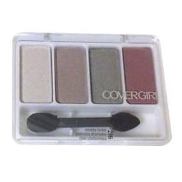 CoverGirl Eye Enhancer COVERGIRL Eye Enhancers 4-Kit Eye Shadow, Smokey Nudes 0.19 oz (5.5 g) Female Cosmetics