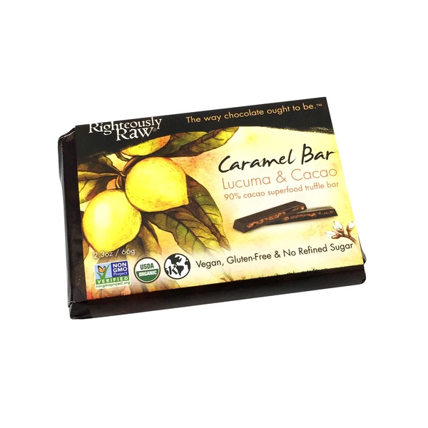 Righteously Raw Lucuma & Cacoa Chocolate Bar