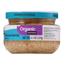 Marketside Organic Minced Garlic, 4.5 oz