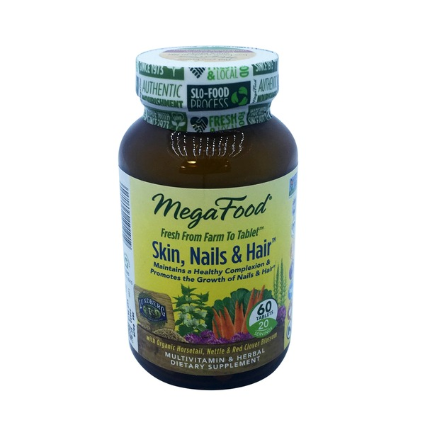 MegaFood Skin, Nails & Hair Multivitamin Tablets