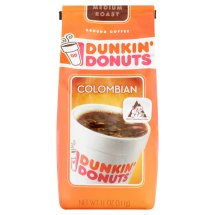 Dunkin' Donuts Colombian Medium Roast Ground Coffee, 11 oz