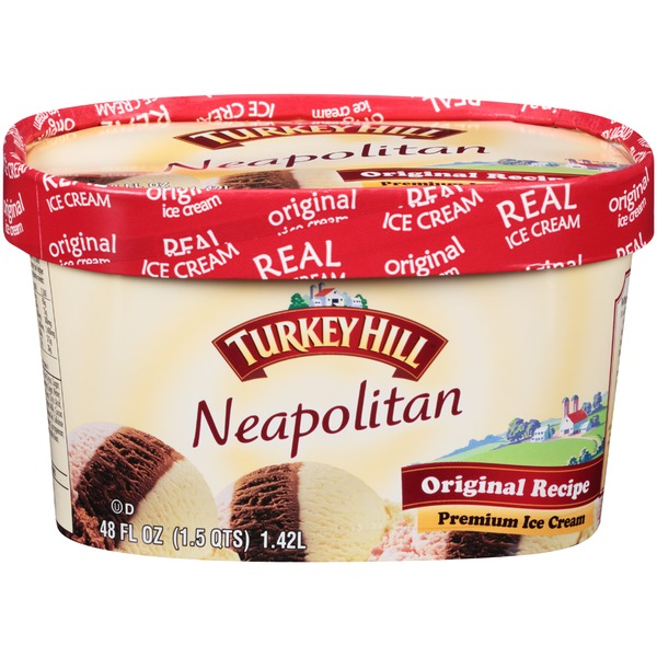 Turkey Hill Neapolitan Premium Ice Cream