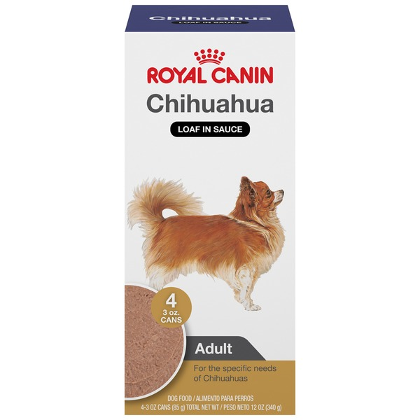 Royal Canin Adult Chihuahua Loaf in Sauce Dog Food
