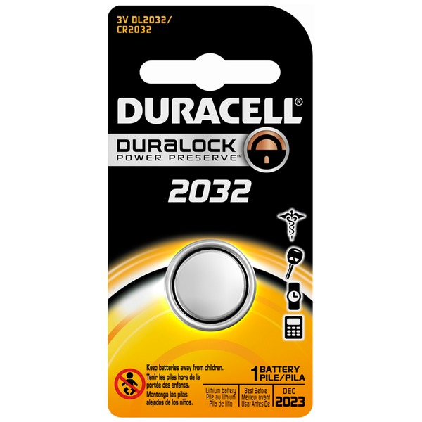 Duracell Coin Button 2032 Lithium Battery