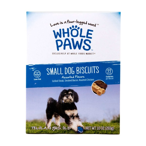 Whole Paws Small Dog Biscuits