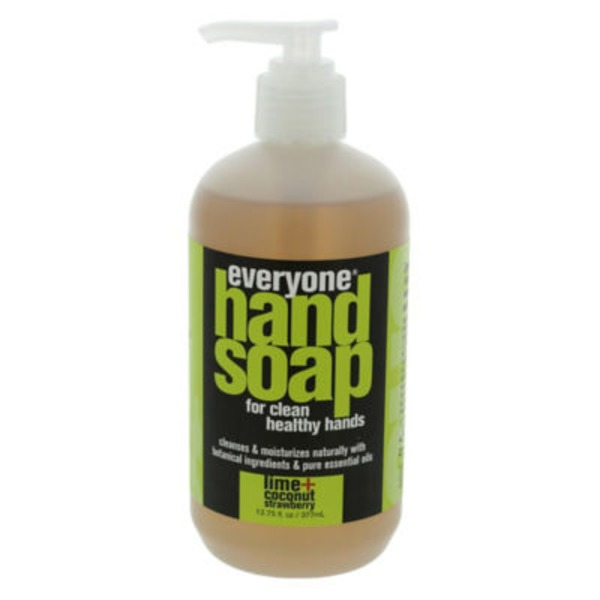 Everyone Lime + Coconut Strawberry Handsoap
