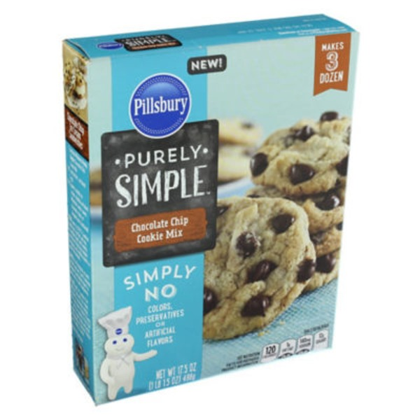 Pillsbury Purely Simple Chocolate Chip Cookies