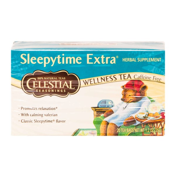 Celestial Seasonings Sleepytime Extra Caffeine Free Wellness Tea