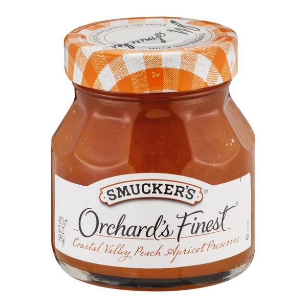 Smucker's Orchard's Finest Coastal Valley Peach Apricot Preserves