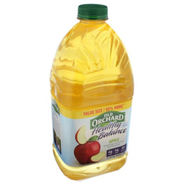 Old Orchard Healthy Balance Apple Juice