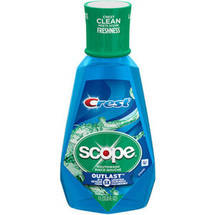 Scope Outlast Long Lasting Peppermint Flavor Mouthwash