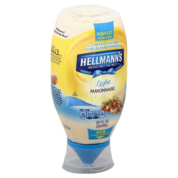 Hellmann's Squeeze Light Mayonnaise