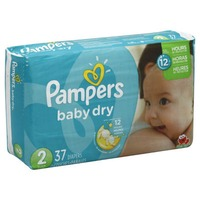 Pampers Baby Dry Pampers Baby Dry Diapers Size 2 37 Count Diapers