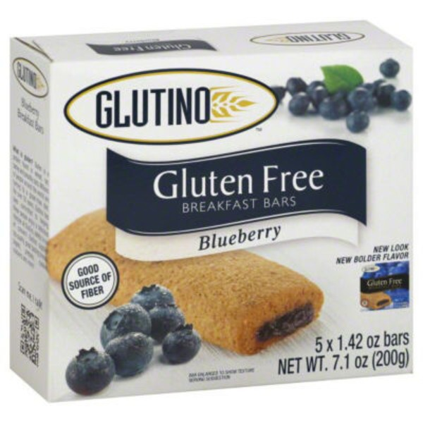 Glutino Gluten Free Blueberry Breakfast Bars