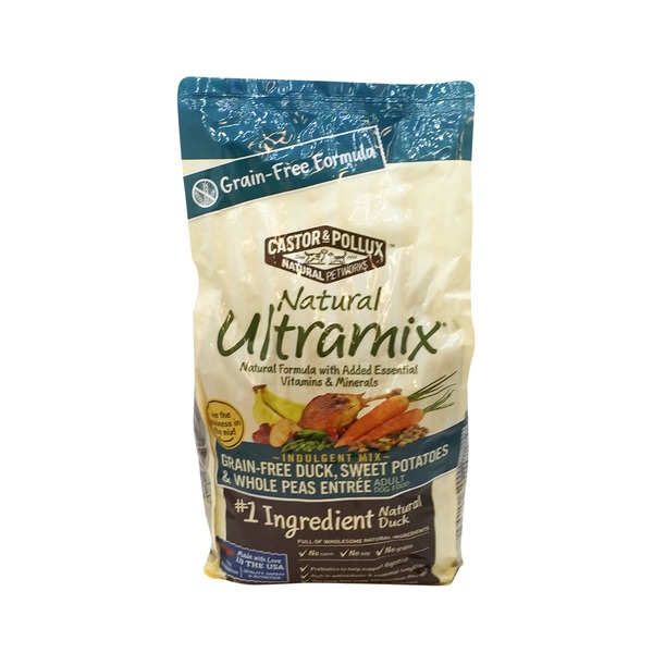 Natural Ultramix Grain-Free Duck, Sweet Potatoes & Whole Peas Entree Adult Dog Food