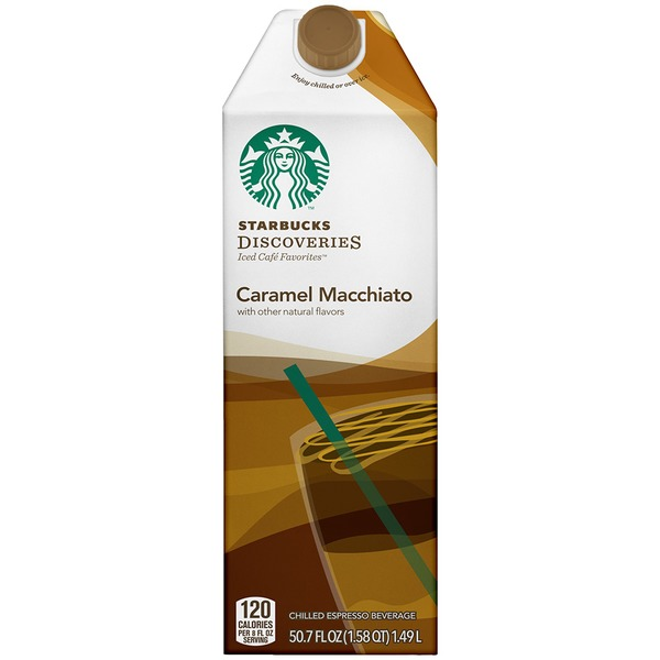 Starbucks Discoveries Caramel Macchiato Chilled Espresso Beverage