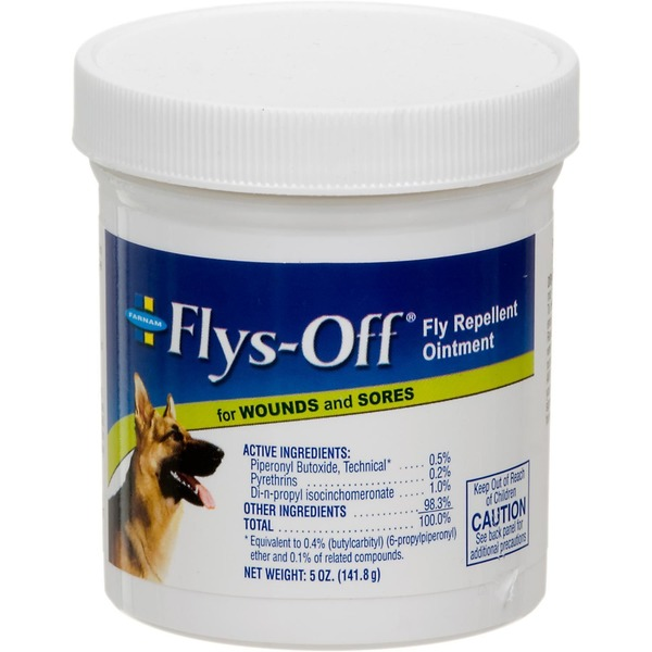 Farnam Flys Off Fly Repellent Ointment For Wounds & Sores