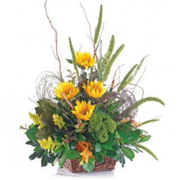 Fall Basket Arrangement Standard