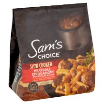 Sam's Choice Slow Cooker Meatball Stroganoff with Noodles & Sauce, 44 oz
