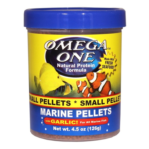 Omega One Garlic Marine Small Sinking Pellets