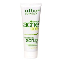 Alba Botanica Natural Acne Dote Face & Body Scrub