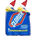Clorox Toilet Bowl Cleaner, Rain Clean, 24 oz, 2 pk