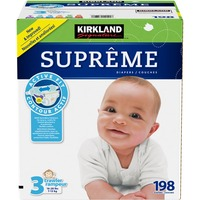 Kirkland Signature Supreme Diapers, Size 3