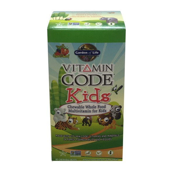 Garden of Life Vitamin Code Kids Cherry Berry Chewables