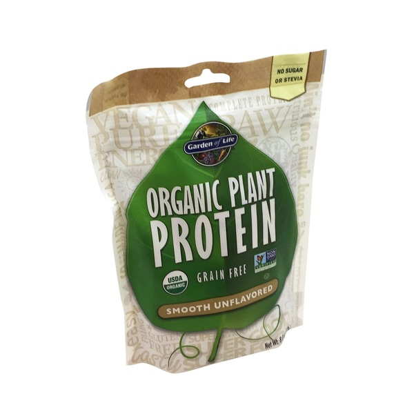 Garden of Life Organic Plant Protein Unflavored