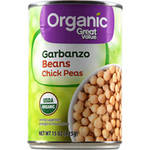Great Value Organic Chickpeas Garbanzo Beans