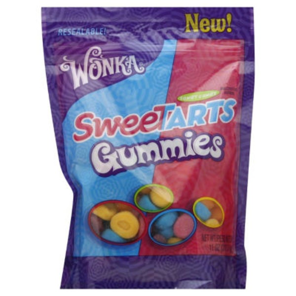Sweet Tarts Mini Gummy Bites Tangy Candy