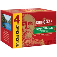 King Oscar Wild Caught in Extra Virgin Olive Oil Sardines