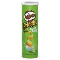 Pringles Sour Cream & Onion Potato Crisps
