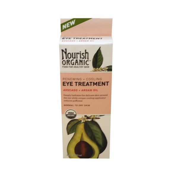 Nourish Organic Eye Treatment With Avocado & Argan Oil